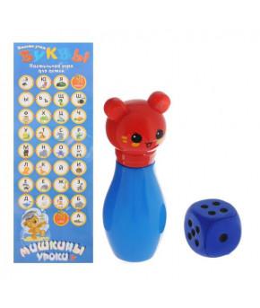 Развивающая игра Мишкины уроки Вместе учим буквы B-910