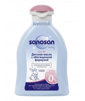 Молочко Sanosan baby увлажняющее с пантенолом 100мл