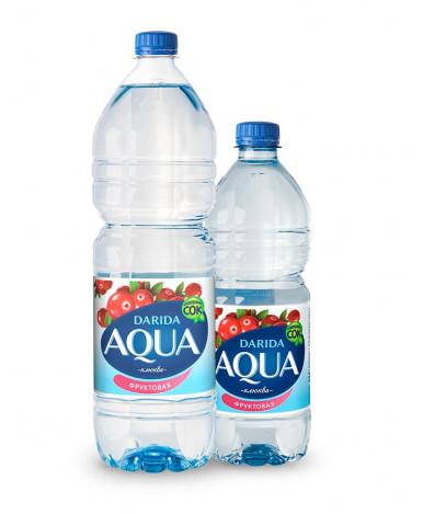 """Вода """"Darida"""" Aqua со вкусом клюквы, 1,5л"""