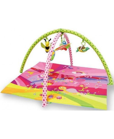 Коврик Lorelli Сказки игровой розовый 89х84см