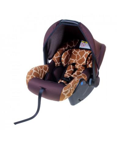 Автокресло Крошка Я Safe Жираф коричневый (0-13 кг)