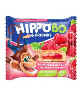 Пирожное Хиппо Бо с малиновой начинкой 32г