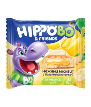 Пирожное Хиппо Бо с банановой начинкой 32г