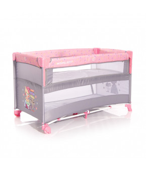 Манеж Lorelli Cot Up and Down Pink Travelling