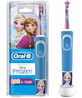 Зубная электрическая щетка Oral-b Stages Frozen D100.413.2K 3+
