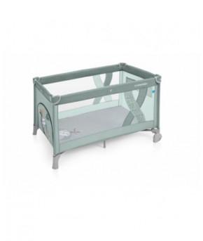 Кровать-манеж Baby Design DREAM NEW 2019 03 GREEN