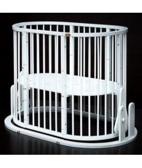 Кровать трансформер 7в1 Bambini М 14, маятник, белый