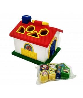 Развивающая игрушка-сортер Домик Red box 2060