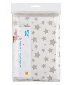 Наматрасник Roxy Kids с резинками-держателями Фисташковые звезды