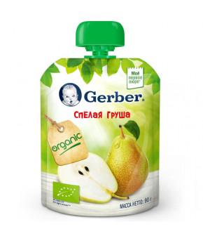 Пюре Gerber спелая груша gualapack 90г