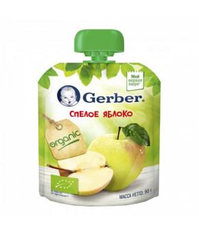 """Пюре """"Gerber"""" gualapack спелое яблоко 90гр"""