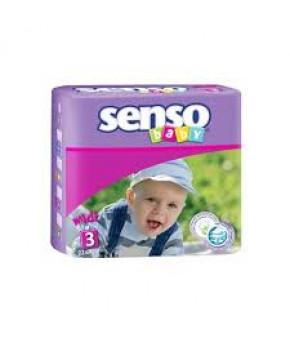 Подгузники Senso Baby 3 (4-9 кг) 22шт