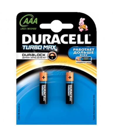 Батарейки Duracell ААА-1.5V LR03 (2шт)