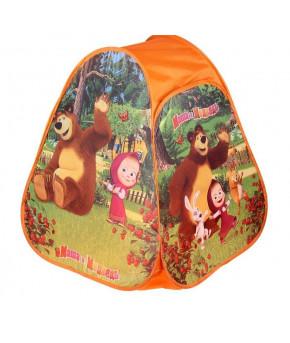 Палатка игровая Маша и Медведь 81х91х81см