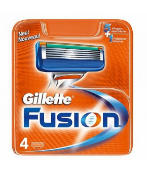Кассеты Gillette FUSION  4шт