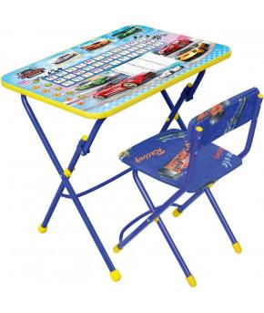 Мебельный комплект Nika Kids Познайка Большие гонки