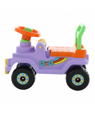 Автомобиль-каталка Полесье Джип 4х4 (сиреневый)