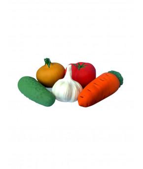 Набор Овощей из Пвх пластизоля из 5 предметов