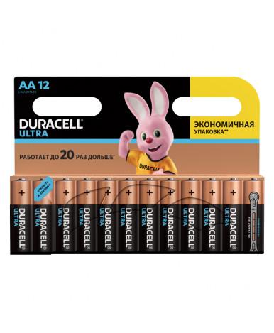 Батарейки Duracell Ultra Power AA LR06 алкалиновая (12шт) цена за штуку