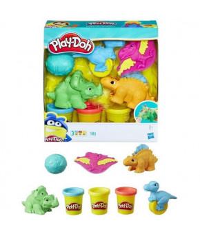 Набор для лепки Play-Doh Малыши Динозаврики