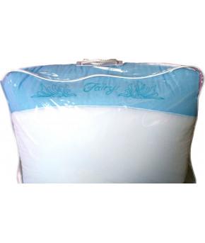 """Комплект в кроватку Fairy """"Сладкий сон"""", бело голубой, (7 предметов)"""