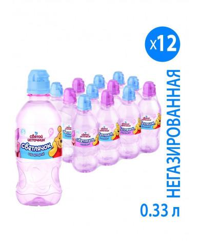 Вода Святой источник Светлячок Детская питьевая 0,33л