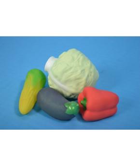 Набор Овощей из Пвх пластизоля из 4 предметов