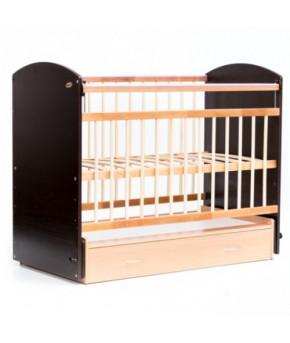 Кровать детская Bambini Elegance 07, венге/натуральный