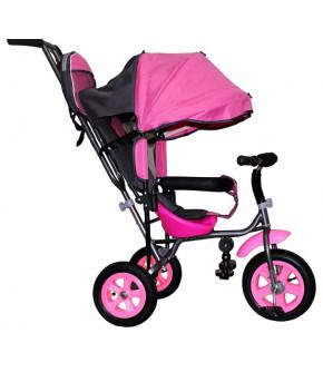 Велосипед трехколёсный Лучик Малют 1 розовый