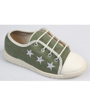 Полу-ботинки дошкольные текстиль, р.180