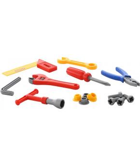 Набор инструментов Полесье 17 элементов (в пакете)