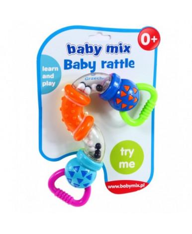 Погремушка Baby mix Зигзаг