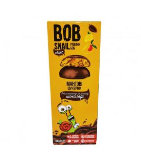 Конфеты Улитка Боб манговые в бельгийском молочном шоколаде 60г