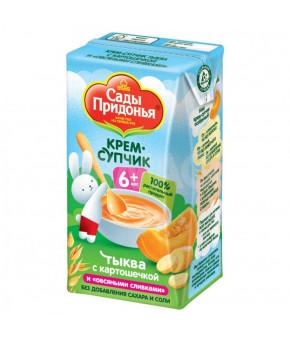Крем-супчик Сады Придонья тыква картофель с овсяными сливками 125г