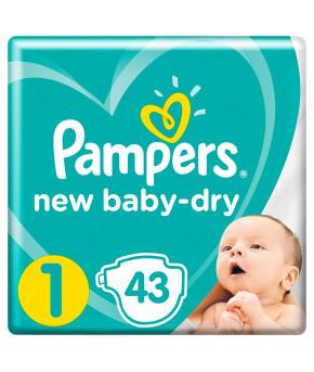 Подгузники Pampers New Baby 1 (2-5кг) 43шт
