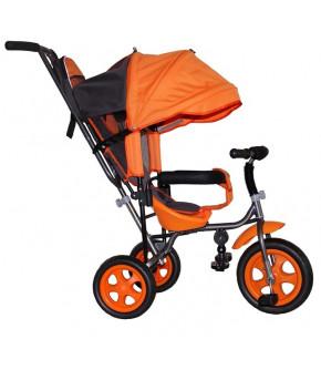 Велосипед трехколёсный Лучик Малют 2 оранжевый