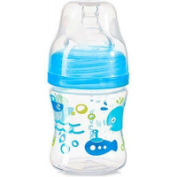 Бутылочка BabyOno антиколиковая с широким горлышком 120 мл.