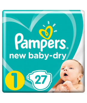 Подгузники Pampers New Baby 1 (2-5кг) 27шт