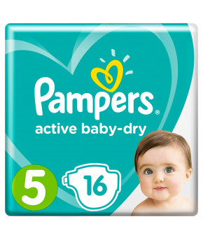 Подгузники Pampers Active Baby 5 (11-16кг) 16шт