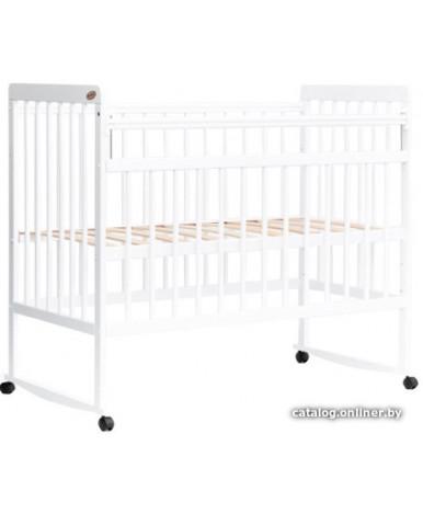 Кровать детская Bambini Euro Style 03, белый