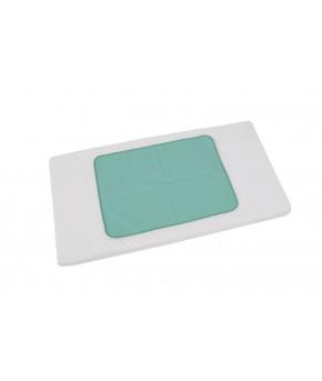 Пеленка-клеенка Фея оконтованная 48*68см зеленая