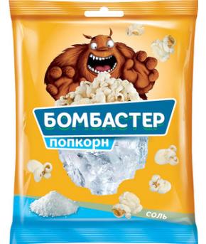 Попкорн Бомбастер соль 35г