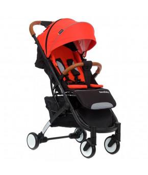 Коляска прогулочная BabyZz D200 красная на черной раме