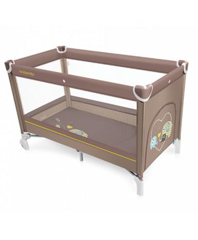 Кровать-манеж Baby Design DREAM NEW 2019 03 BEIGE