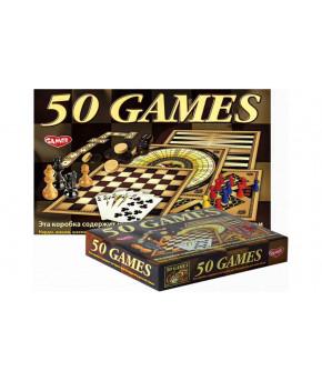 Настольная игра 50 видов игр для всей семьи