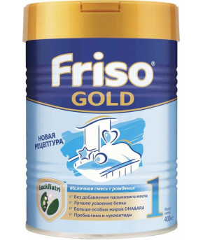Смесь Friso Gold 1 LockNutri молочная, 400г