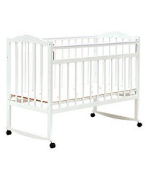 Кровать детская Bambini Classic 09, белый/голубой