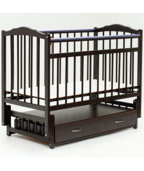 Кровать детская Bambini Classic 10, темный орех