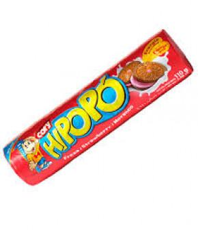 Печенье HIPOPO с начинкой Strawberry 110г