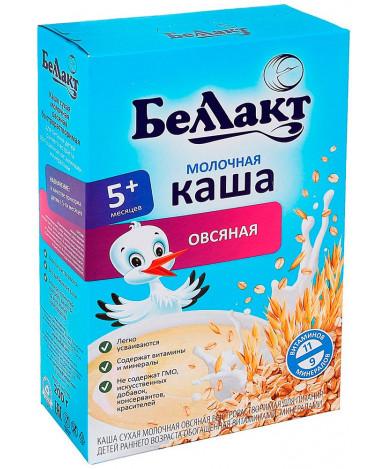 Каша Беллакт овсяная молочная 250г